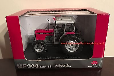 Universal Hobbies Massey Ferguson 398 (Dealer Box) 4112 1/32 Scale Tractor