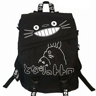 HOT Anime My Neighbor Totoro rucksack Travelling Backpack Shoulder School Bag A