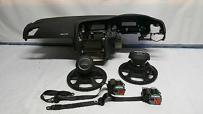 Audi A5 2015 Airbag Kit Dashboard With Passanger Driver Airbags And Seatbelts