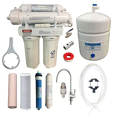 Undersink Reverse Osmosis Water Filter System RON 4 + 5 Stage RO Membrane Filter