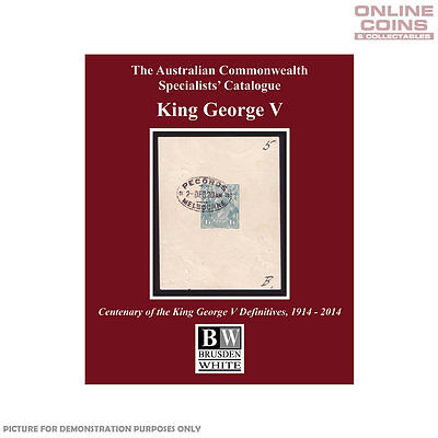 2014 Brusden White - King George V Soft Cover Book -  BRAND NEW IN STORE!!!