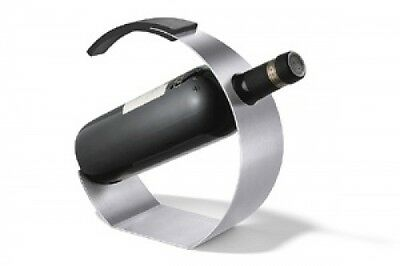 Zack 20551 Cunea Wine Bottle Holder- Stainless Steal. Free Shipping