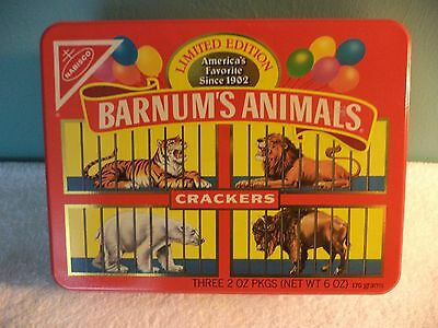 Barnum's Animals Crackers Limited Edition Tin Nabisco