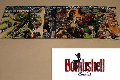 Hal Jordan and the Green Lantern Corps Rebirth 1 2 3 4 5 6 7 Complete Comic Lot