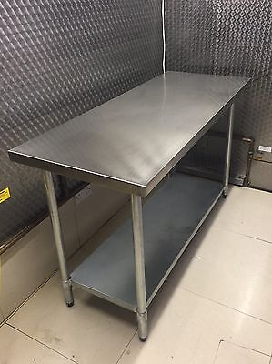 5ft By 2ft Stainless Steel Catering Table