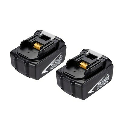2x Masione™ 3.0Ah 18V Li-ion Replacement Battery for Makita BL1830 194205-3 CA