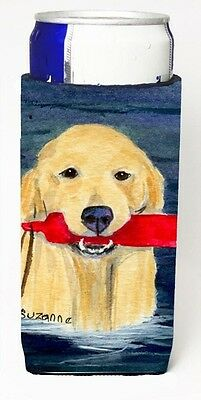 Carolines Treasures SS8868MUK Golden Retriever Michelob Ultra s for slim cans. B