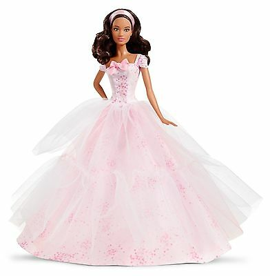 Barbie Birthday Wishes 2016 Barbie Doll Dark Brunette   New