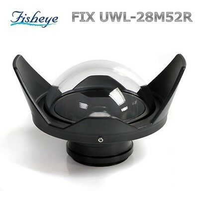 Fisheye Lens FIX UWL-28M52R 20589 Underwater Photography Wide Angle