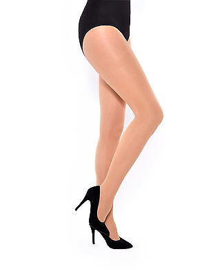 Nude / Natural 60 Denier S to 4XL Ladies Tights Opaque Matt Pantyhose Hosiery