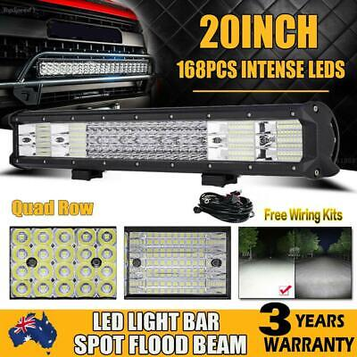 20Inch 540W Philips Led Light Bar Spot Flood Offroad Work Driving Lamp Truck 4WD