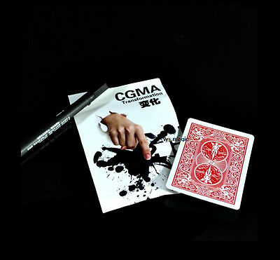 Ultimate Transformation Magic Trick Close Up Street Bicycle Card Parlor Change