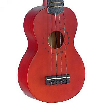 STAGG US10TATTOO - UKELELE SOPRANO (3 CUERDAS), COLOR MARRóN 8009