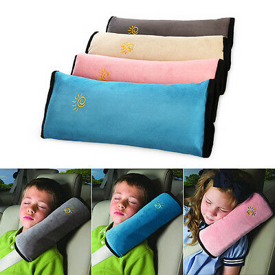 Kid Child Safety Car Seat Belt Pad Strap Harness Shoulder Sleep Pillow Cushion
