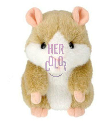 Funny Japanese Shaking Talking Hamster Repeat Recorder Gift for Kid Girlfriend