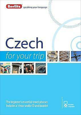 Berlitz Language: Czech For Your Trip (Berlitz For Your Trip), Berlitz, New Book