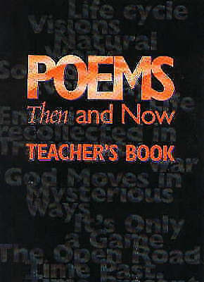 Poems Then and Now Teacher's Book (Poetry Collections), Waters, Fiona, Excellent