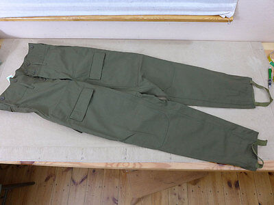 #2 Czech Army Military Trousers 180 94 / Feldhose oliv Tschechien Armee Hose