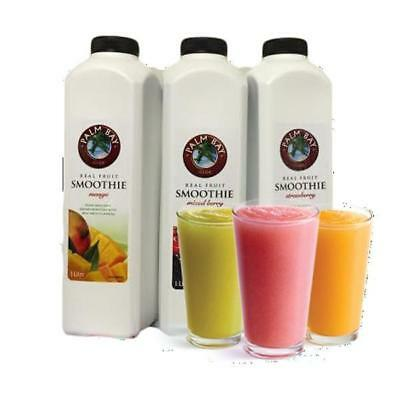 Palm Bay Mixed Berry Real Fruit Smoothie 1Lt
