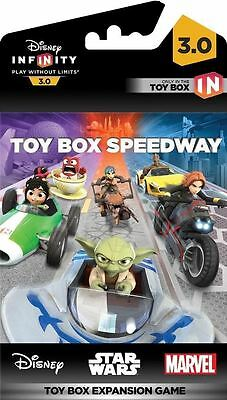 Disney Infinity 3.0 Edition: Toy Box Speedway - Toy Box Expansion Game NEW