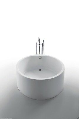 Acrylic Bathtub - Freestanding - Soaking Tub - Modern Bathtub - Dana - 51""
