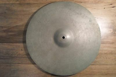 "(1) Vintage Krut England 14"" dished cymbal China / Crash?   *Worldwide*"