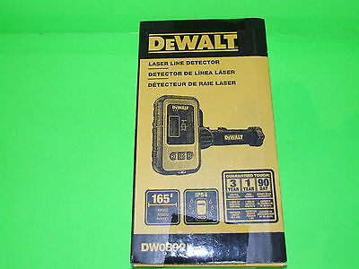 Dewalt Laser Line Detector ! 165 feet Range ! IP54 ! DW0892 ! NEW-SEALED-WOW !