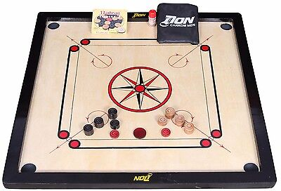 "Carrom Board - Coins, Striker & 33 x 33"" Rosewood  in  Carrom Set boric powder"