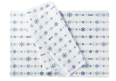 "HOLIDAY THEMED EBAY BRANDED GIFT TISSUE PAPER: 20""x30"" 25 SHEETS"