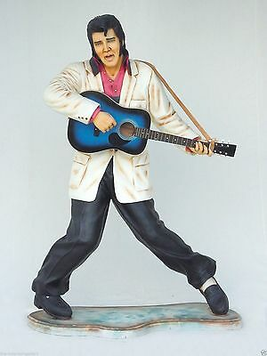 Rock and Roll Singer with Guitar Life Size 6FT - Singer with Guitar Life Size