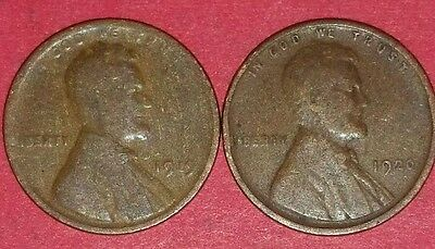 1919 & 1920 Philadelphia Mints Lincoln Wheat Cents   ID #9-14,16