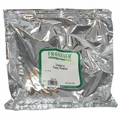 Frontier Natural Products BG13234 Frontier Creme Of Trtar Pwd - 1x1LB. Best Pric