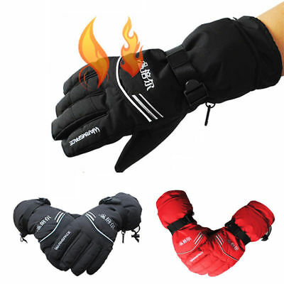 Outdoor Work Electric Heated Hands Warmer Gloves W/ 3000mAh Rechargeable Battery
