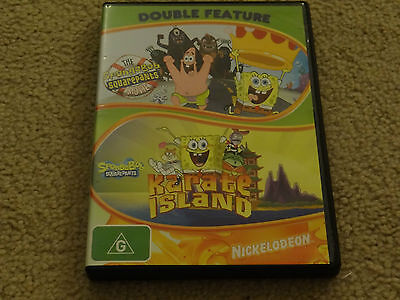 The Spongebob Squarepants Movie / Karate Island Dvd *bargain*