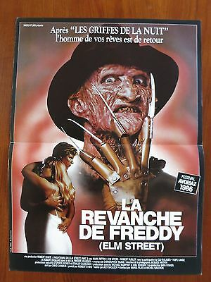 NIGHTMARE ON ELM STREET 2: FREDDY'S REVENGE Original French Movie Poster