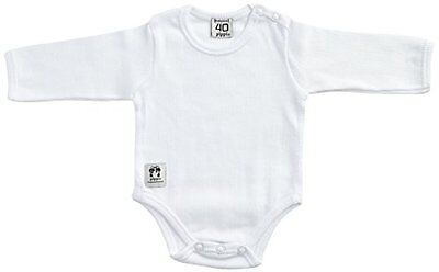 Pippi - Body Ls W.buttons O.shoulder, Body unisex bimbi, Weiß - Weiß, 23