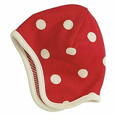 Pigeon-Organics For Kids berretto Spotty Rosso 0 - 5 m