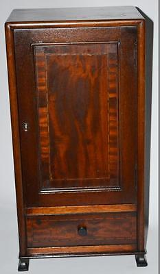 Victorian Inlaid Mahogany Medicine Cabinet c1900 - FREE Shipping [PL2628]