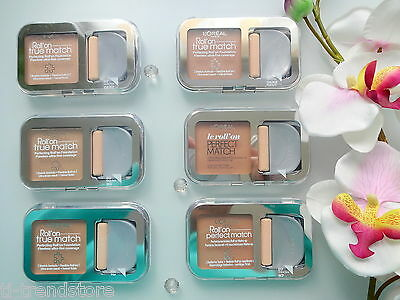 (14,65€/10g) Loreal Roll on Make Up Foundation True Match Roller ver.Farben Neu