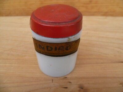 Vintage Old Apothecary, Medical Bottle Jar With Label, (B454)