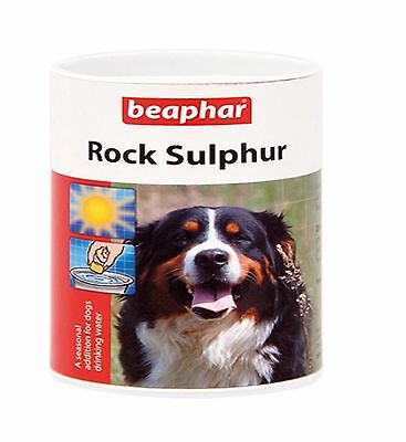 Beaphar Rock Sulphur, Seasonal addition for dogs drinking water, 100g.