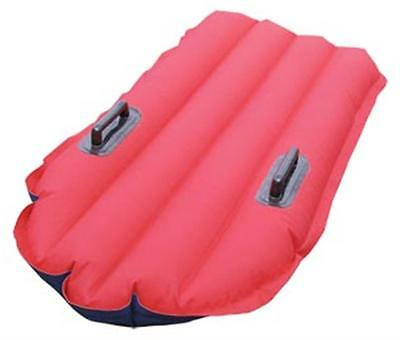 Surfmat Waverider Red/Blue Rubber Cotton Inflatable Surf Mat Bodyboard 140 cm