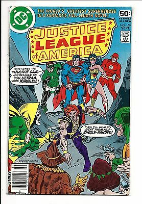 Justice League Of America # 158 (Sept 1978), Fn+