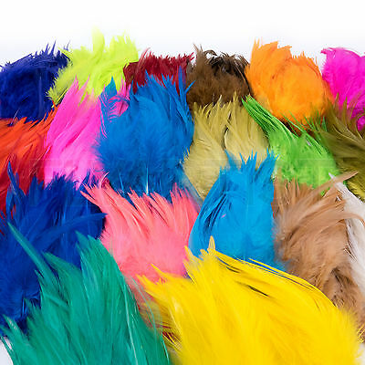 """STRUNG SADDLE HACKLE Fly Tying 5""""-7"""" Feathers Wooly Bugger Streamers Chinese NEW"""