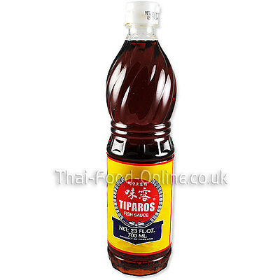 Authentic Thai Fish Sauce (700ml) by Tiparos - UK Seller