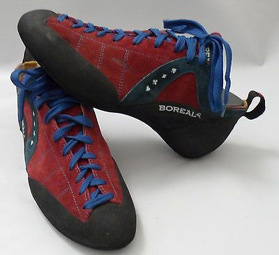 Womens Boreal Fusion S-2 Rock Climbing Shoes Bouldering Size 11 (43.5)