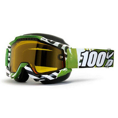 100% – Accuri Snow Subway Yellow Lens Goggles