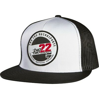Shift – Dedication Mesh Snapback White Trucker Cap
