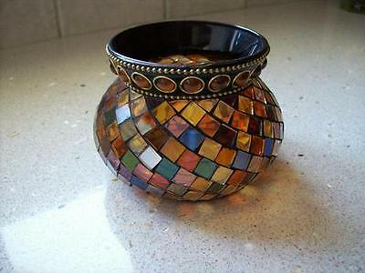 Partylite GLOBAL Fusion  MOSAIC Votive Holder