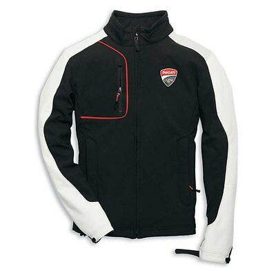 NEW DUCATI Corse Windproof Jacket MENS SIZE SMALL Black/White/Red